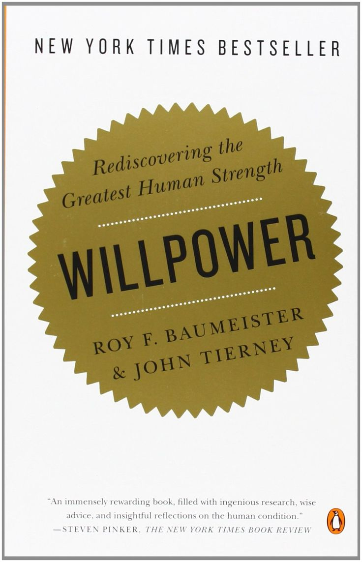 Image result for willpower book