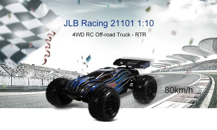 [NEW] JLB Racing 21101 CHEETAH 1/10 Brushless RC Car Truggy RTR #HomemadeBrand