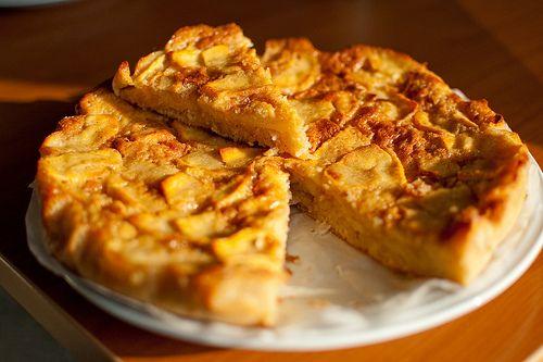#tortadimele con #lievitomadre
