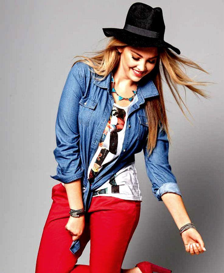 Damen Jeanshemd Gr.44/46,48/50,52/54,56/58 Jeans BLUSE Hemd Oberteil Langarm neu | eBay