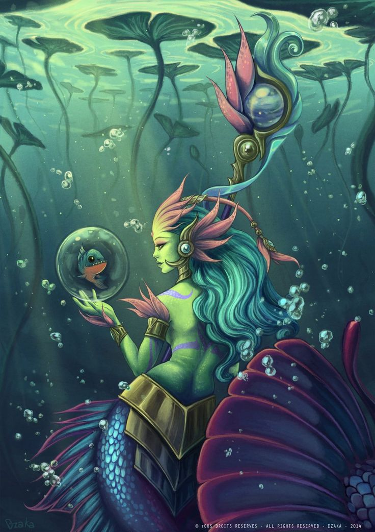 Skin Nami river spirit - League of legends by o0dzaka0o.