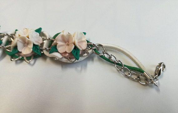White Lilac Bracelet