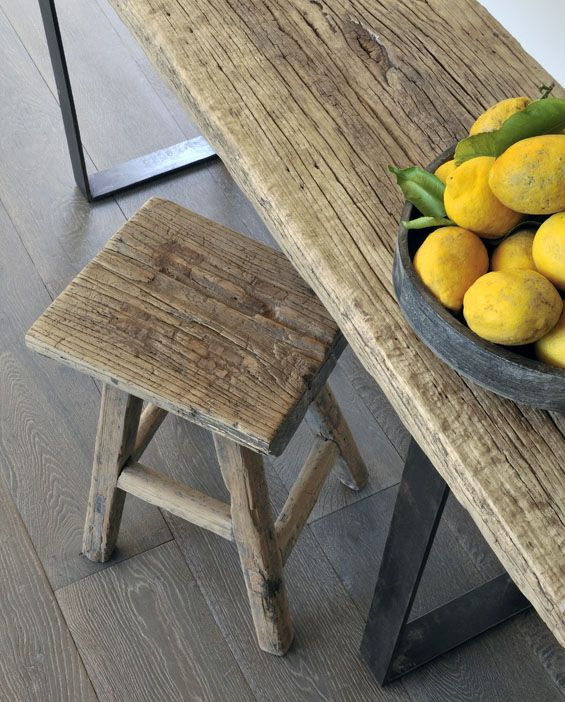 Beauté intemporelle du bois brut Crédit Aveline Michaut