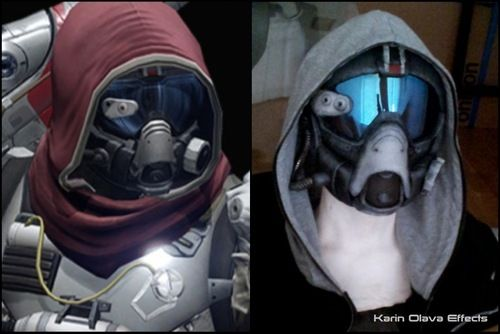 A few have asked me how I made the mask/helmet for my hunter. Didn't take that many pictures during the build process, but I'll post what I have and hopefully it will make sense. First of I started...