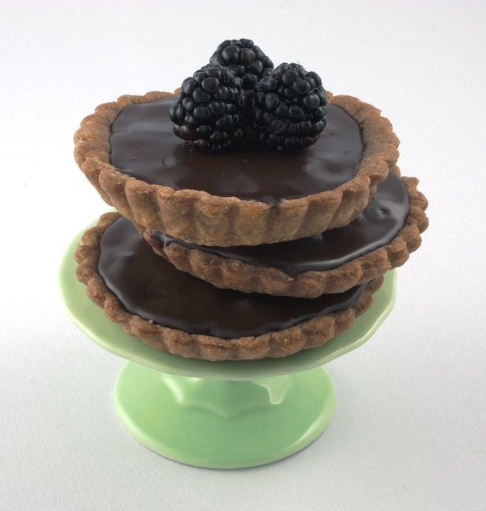 Chocolate Hazelnut Tart | The Bakery | Pinterest