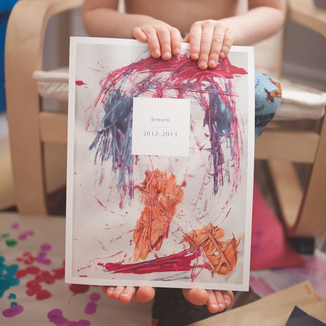 Personalized Mother's Day gifts: Custom photo book with your child's artwork | Artifact Uprising