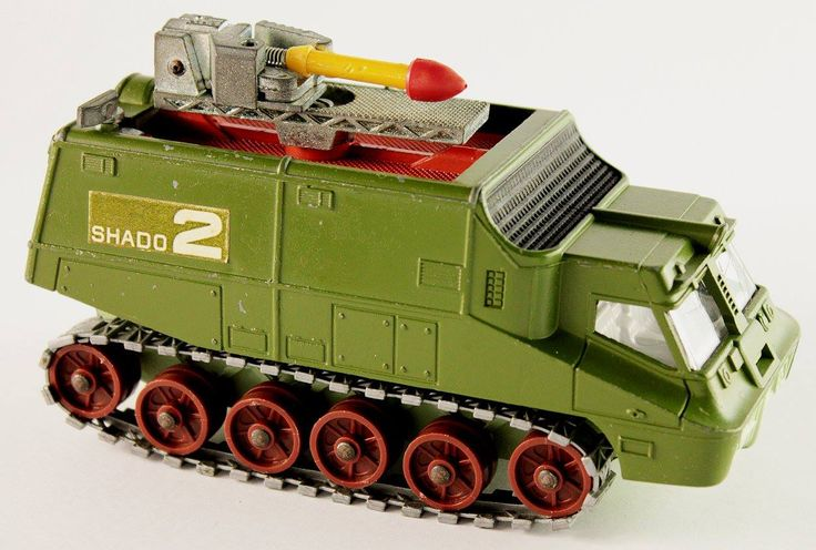 1971 Shado 2 Mobile diecast vehicle by Dinky Toys (Meccano Ltd.)
