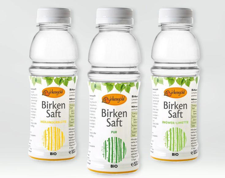 Gesunder Energydrink: Der Bio-Birkensaft von Birkengold wird aus dem Stamm finnischer Birken gezapft, ist erfrischend und kalorienarm.