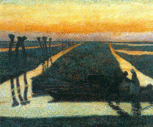 Broek in Waterland by Jan Toorop, 1889