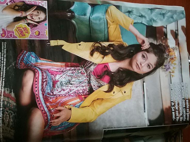 Karol Sevilla en la revista Hola Mexico
