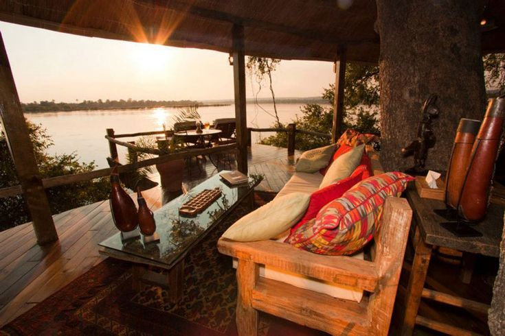 Boomhut in Zambia - Tongabezi - Zeer luxe boomhut