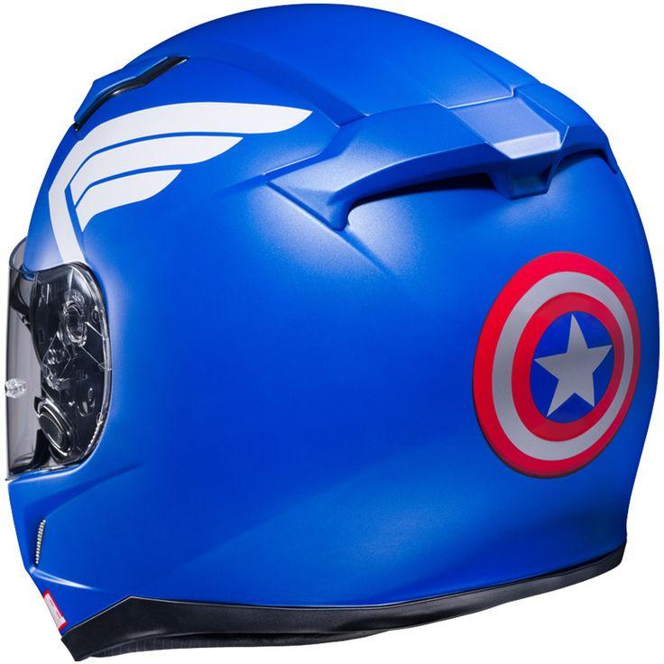 CL-17 CAPTAIN AMERICA | HJC Helmets Official Site