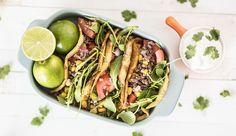 Healthy tortilla's gemaakt van eieren, kruidenkaas en cayennepoeder. Tortilla's zonder meel! Glutenvrije tortilla's dus met een heerlijke en gezonde vulling