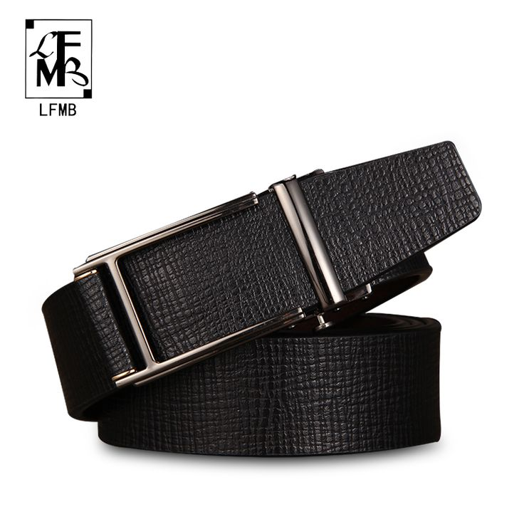 [LFMB]leather belt men male genuine leather strap automatic belt buckle  ceinture cuir homme de marque belt free shipping //Price: $37.27 & FREE Shipping //     #Clothing
