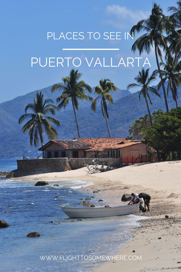 Puerto Vallarta is a beautiful town on the Pacific coast of Mexico. There are plenty of places to see here, both in Puerto Vallarta and within a reach of a day trip. Some of the must-sees are Estero el Salado, Los Arcos, San Sebastian del Oeste, Quimixto and Sierra Madre mountains. #puertovallarta #mexico