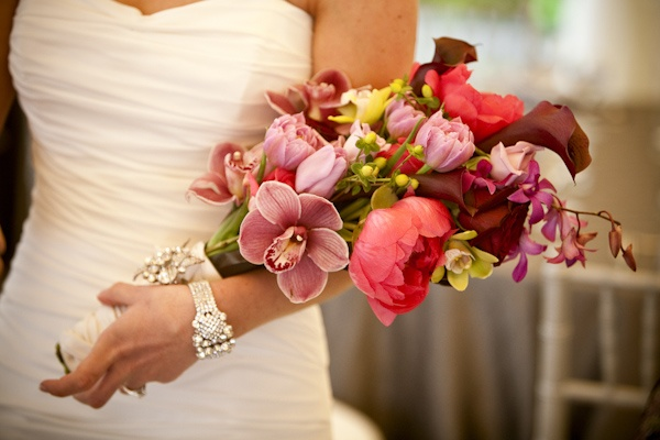Pageant style bouquet.