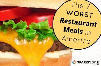 The 7 Worst Restaurant Foods in America via @SparkPeople