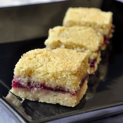 Red Berry Squares - Rock Recipes -The Best Food & Photos from my St. John's, Newfoundland Kitchen.