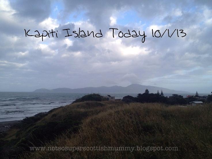 Not So Super Scottish Mummy: Kapiti Island Today 10/1/13