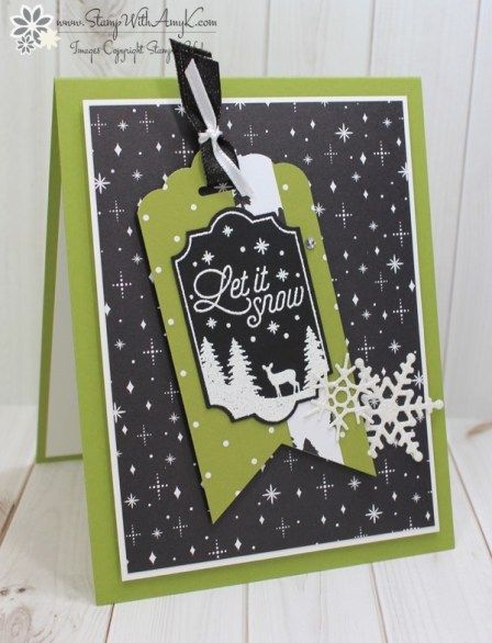 Stampin' Up! Merry Little Labels for the Happy Inkin' Thursday Blog Hop – Stamp With Amy K
