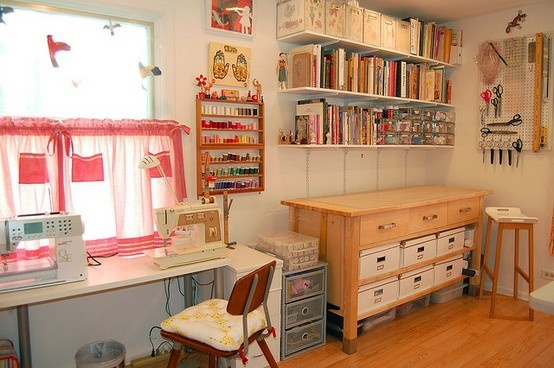 1000 Images About Basement Sewing Room On Pinterest