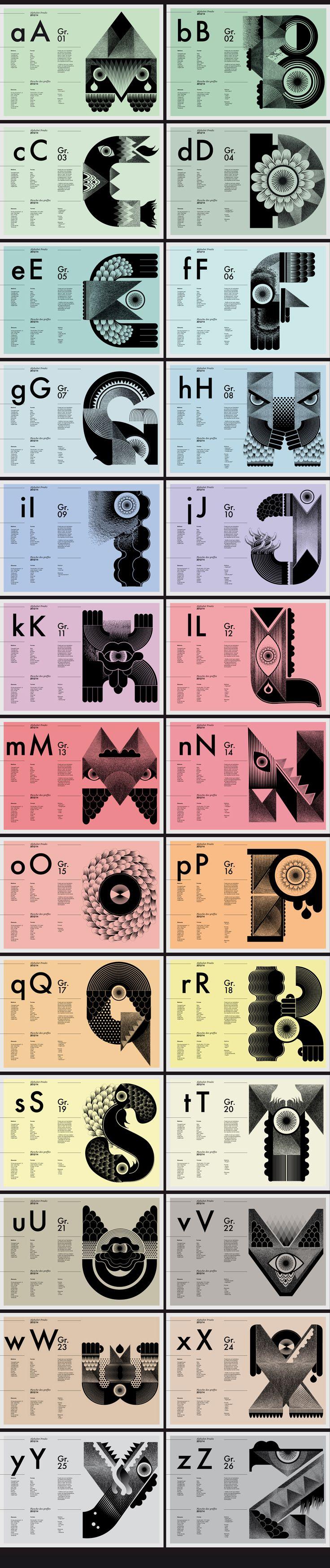 Freaks typographie