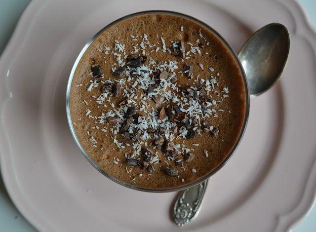 3 - składnikowy mus czekoladowy | Vegan Rebel!