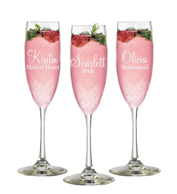 bridal party gifts bride glass 11 by on etsy
