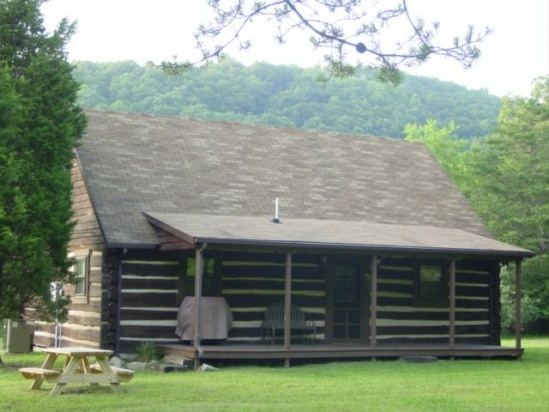103 best images about wild wonderful west virginia on pinterest vacation rentals country - Small log houses dream vacations wild ...