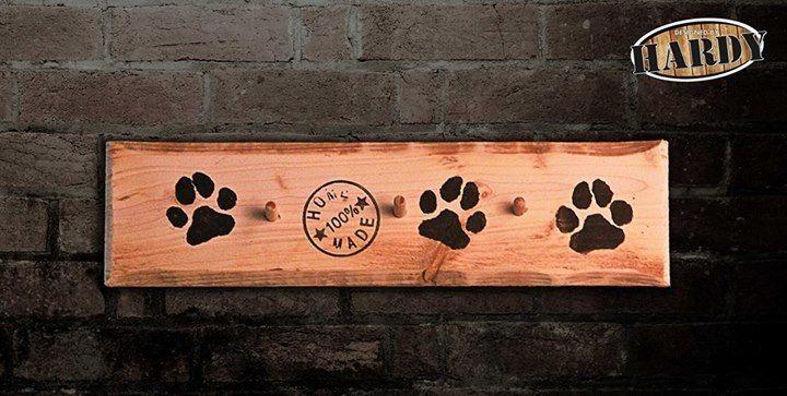 Hundeleinen Halter  von Möbel aus Europaletten auf DaWanda.com