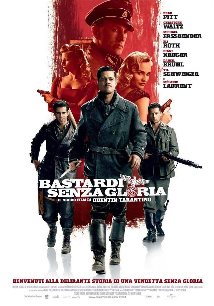 Inglourious Basterds (Bękarty Wojny) - film - Językowy Precel