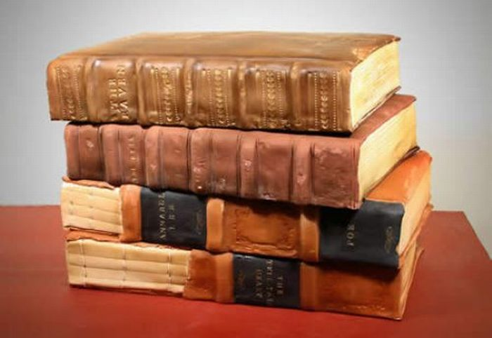 book cake - I would love this!