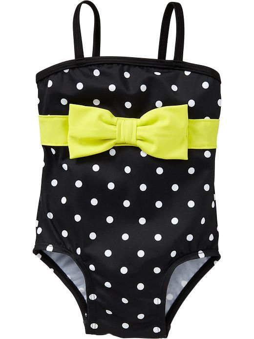 Old Navy | Polka-Dot Bow-Tie Swimsuits for Baby