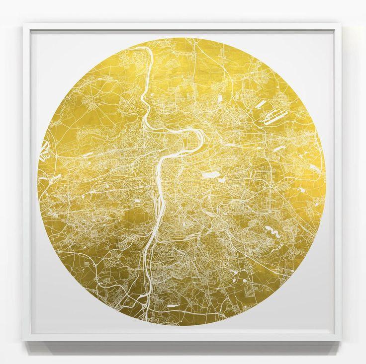 Mappa Mundi Prague Giclée Print – Art Unified