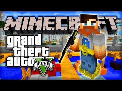 """http://minecraftstream.com/minecraft-episodes/minecraft-gta-5-mod-episode-1-w-ali-a-grand-theft-auto-v-in-mc/ - Minecraft GTA 5 Mod - Episode #1 w/ Ali-A! - """"GRAND THEFT AUTO V IN MC!""""  Minecraft GTA 5 mod – Guns, Money and FUN! 😀 ● Minecraft GTA #2 – http://youtu.be/gvjdGalzNDs – GTA Server IP: gtahub.com – GTA Website: http://gtahub.com/ Minecraft GTA 5 mod – That's right Grand Theft Auto in Minecraft! Within this video you can see"""