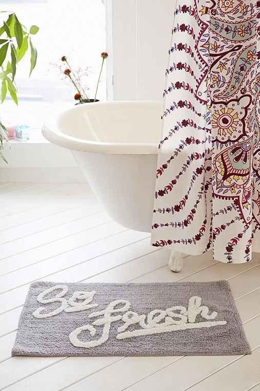 Allover So Fresh Bath Mat - Urban Outfitters