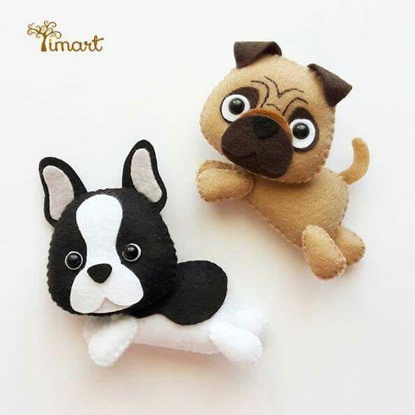 #cani#feltro#pannolenci#animali
