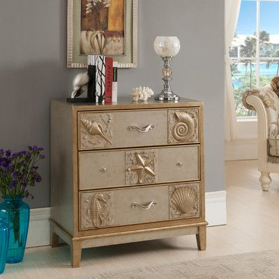 These Nautical Cabinets Will Add Beauty to Your Home! I love nautical design! These nautical cabinets are very lovely, and they will make nice additions to a bedroom, bathroom, living, room, etc. Nautical design might include sea creatures, ship parts, navy and white stripes, and more. It can invol