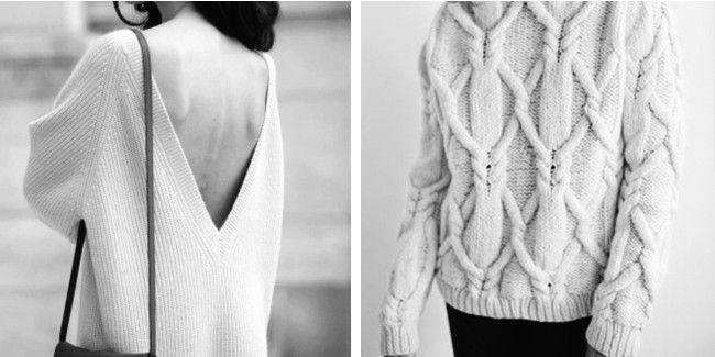 De wonderen wereld van wollen truien en vesten! Knitwear is dé musthave van de winter! We love it!