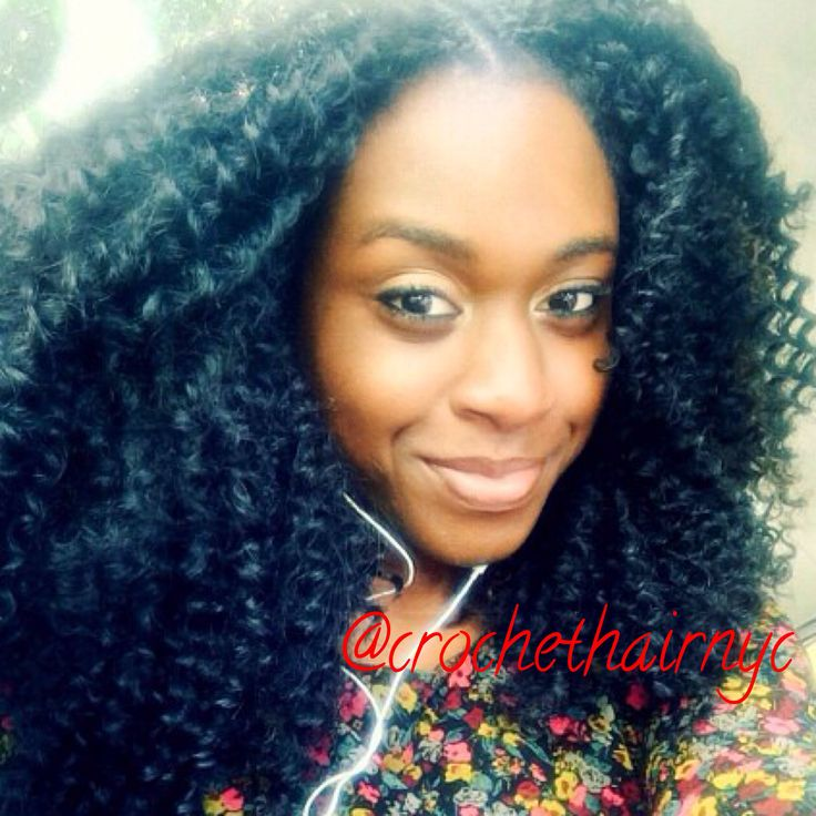 Crochet Braids Questions And Answers : Mix of waterwave by freetress and model model! Book via crochethairnyc ...