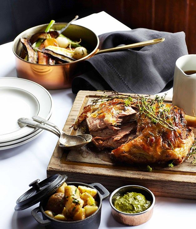 Australian Gourmet Traveller recipe for Colin Fassnidge's Irish stew by Colin Fassnidge from Four in Hand restaurant in Sydney.