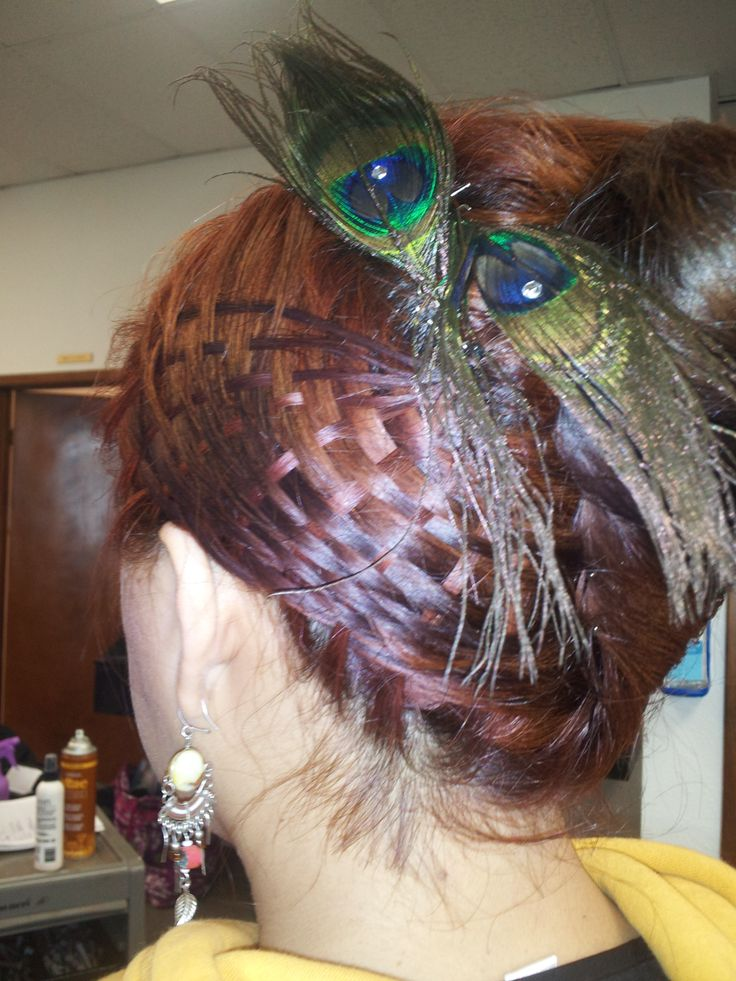 BASKET WEAVE BRAID done by students at our campus in San Antonio.  Check out more online at www.Facebook.com/BellaBeautyCollege