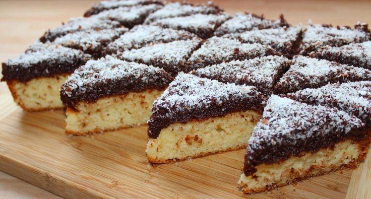 Csokis-kókuszos piskóta recept | APRÓSÉF.HU - receptek képekkel