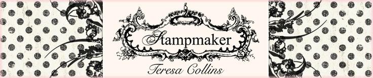 Teresa Collins Stampmaker Kit and Supplies - Create your own stamps   Teresa Collins Stampmaker