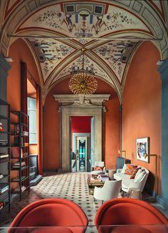 INTERIOR DESIGN PROJECTS| Aquazzura Flagship Store in Florence designed Casa do Passadiço |http://bocadolobo.com/ #interiordesignprojects #moderninterior