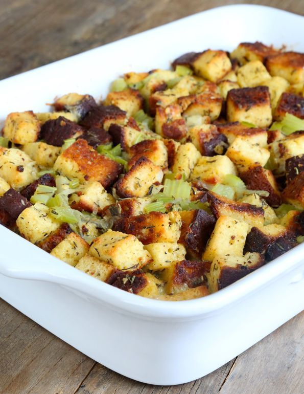 Get this tested, easy-to-follow recipe for gluten free stuffing for Thanksgiving. Find out how to pack that gluten free bread with tons of flavor!