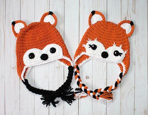 1344 besten Crochet Character Hats Bilder auf Pinterest   Beanie ...