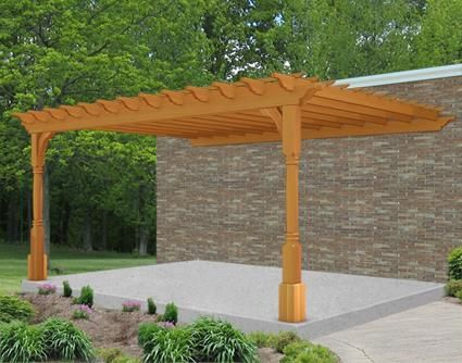 Customize Your X Vinyl Vintage Classic Wall Mount Pergola And Submit For A Shipping Quote Today