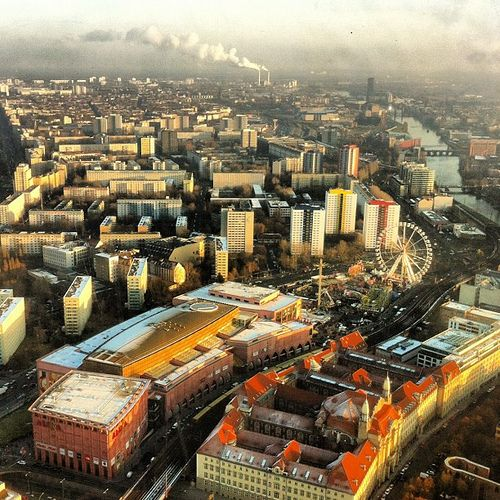 #View from the #Fernseheturm in #Berlin