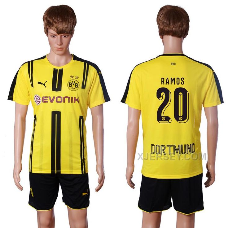 http://www.xjersey.com/201617-dortmund-20-ramos-home-soccer-jersey.html 2016-17 DORTMUND 20 RAMOS HOME SOCCER JERSEY Only $35.00 , Free Shipping!